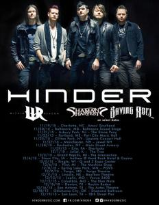 Be sure to catch Within Reason on their upcoming tour with Hinder starting this month!